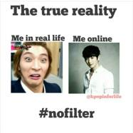 social media true reality real life online meme