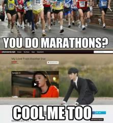 marathons meme