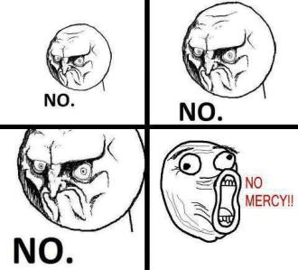 no mercy b.a.p meme quoting kpop songs