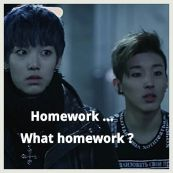 bap homework meme