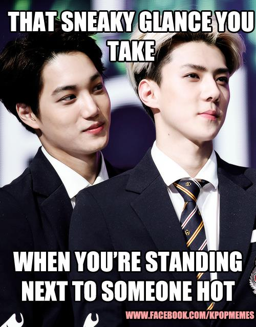 Published April 13, 2014 at 500 × 639 in Exo Memes