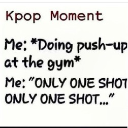 kpop moment only one shot b.a.p push up workout gym