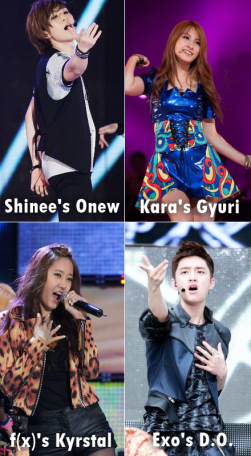 KPop Vocalists