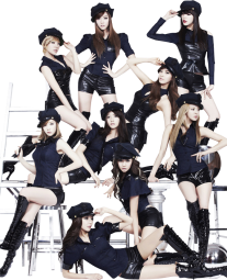 snsd girls generation render