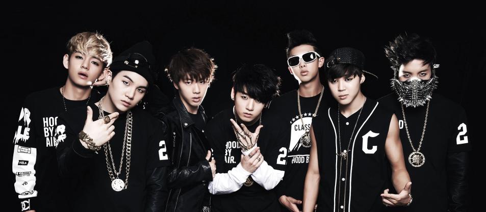 May Calendar Korea : Bangtan boys