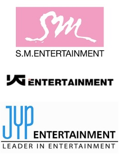 yg sm jyp big three